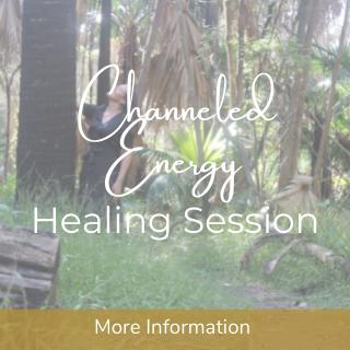 Channeled energy healing